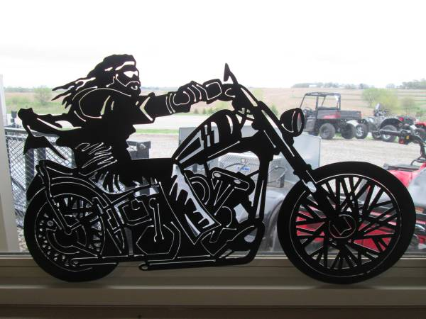 New Powder Coated Motorcycle Signs Powersports